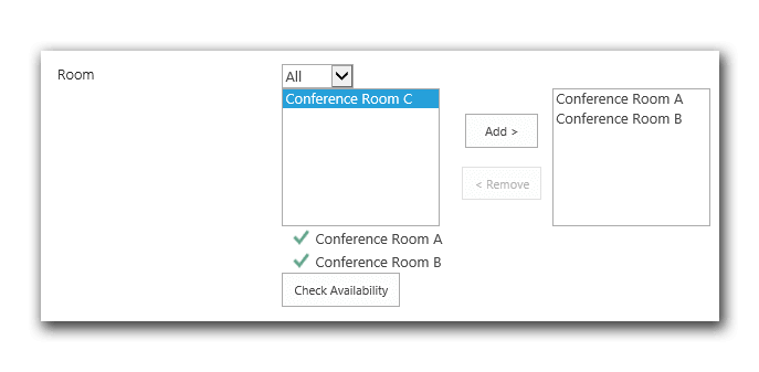 Book rooms & equipment in SharePoint