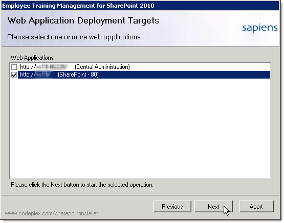 Web Application Deployment Targets